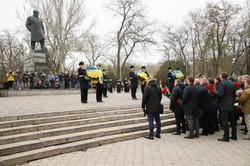 В Одессе официозно отметили пятую годовщину Майдана (ФОТО)
