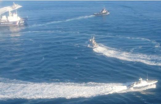 Оккупационный флот РФ захватил украинские бронекатера в Черном море