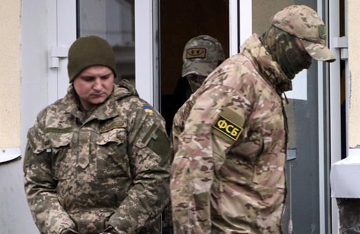 Украинских моряков, незаконно захваченных в Крыму, перевели в Москву
