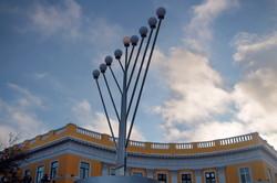 Ханука в Одессе начнется у Дюка завтра (ФОТО)