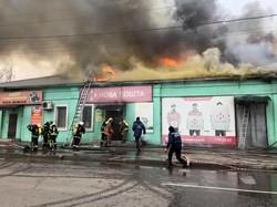 Сильнейший пожар в Одессе на Пересыпи (ФОТО)