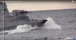 Как ВМС Украины проводят учебные стрельбы в открытом море (ВИДЕО)