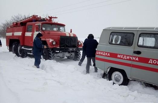 Пожарные Одесской области спасли две скорых помощи (ВИДЕО)