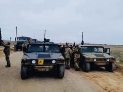 Оперативный резерв морской пехоты высадил десант (ФОТО)