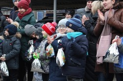 «Преступников» обезвредили на глазах у детей (ФОТО)