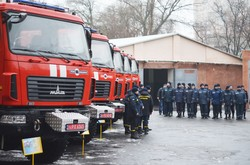 Новая пожарная техника поступила в Одесскую область (ФОТО, ВИДЕО)