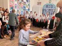 Рождественскую звезду зажгли и наградили в женском монастыре (ФОТО)