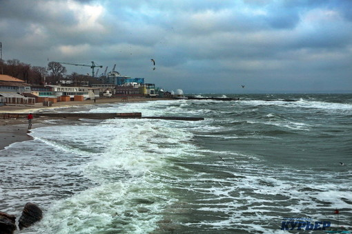 На Одессу снова надвигается циклон