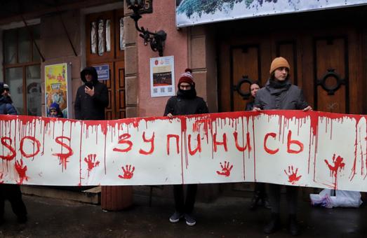 В Одессе акция зоозащитников завершилась дракой с полицией (ВИДЕО)