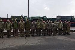 В Сарате торжественно встречали бойцов, вернувшихся из зоны ООС (ФОТО)