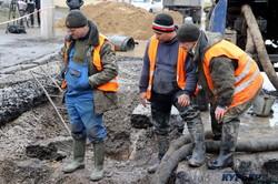 Авария — всем авариям авария: как ремонтируют одесский водопровод (ФОТО, ВИДЕО)