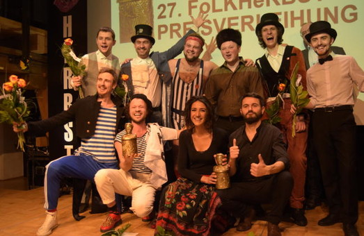 Одесситы заняли первое место на европейском фестивале народной музыки (ВИДЕО)