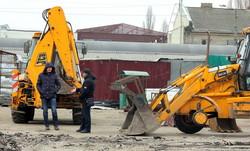 В Одессе начали капитальный ремонт на Привозе (ФОТО)