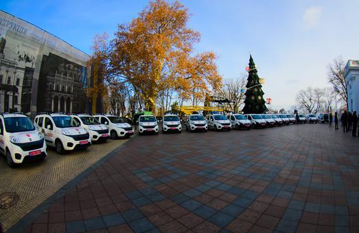Одесса закупит еще 18 машин неотложной медицинской помощи