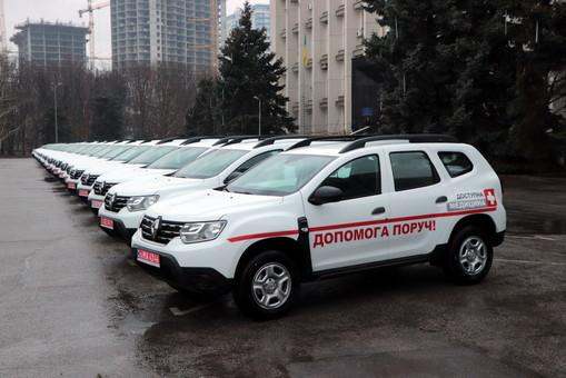 29 внедорожников закупили для сельских амбулаторий Одесской области (ФОТО)