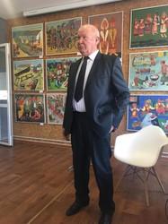Персональная звезда арцизского художника (ФОТО, ВИДЕО)