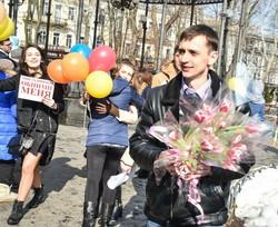 Завтра — обнимашки на Дерибасовской (ФОТО)
