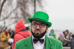 День святого Патрика — зелененький он был (ФОТО, ВИДЕО)