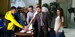 На Одесском главпочтамте торжественно погасили почтовую веломарку (ФОТО)