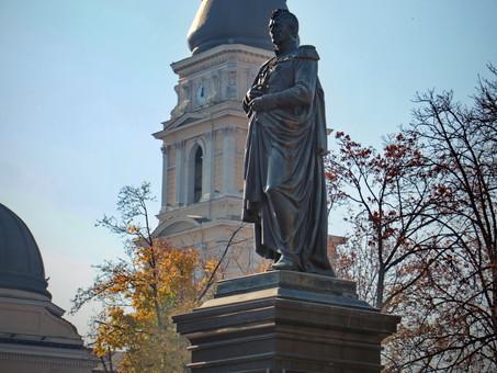 В Одессе снова реставрируют памятник Воронцову
