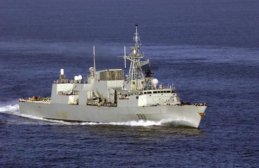 1 апреля в Одессу зайдут боевые корабли Канады и Испании