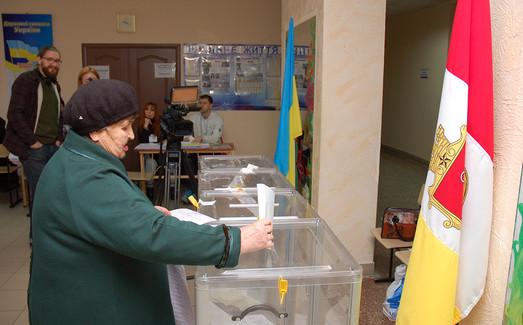 Как голосуют районы Одесской области