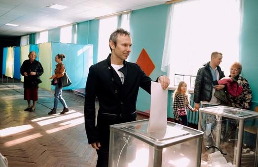 Как голосовали звезды украинского шоу-бизнеса