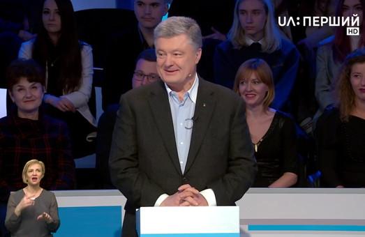 Официальные дебаты кандидатов в президенты Украины