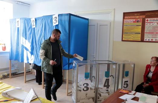 Одесситы активно голосуют на выборах