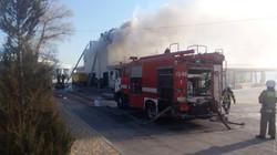 Пожар в одесском ресторане у моря унес жизнь человека