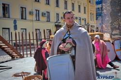 Легионеры разбили лагерь в центре Одессы (ФОТО, ВИДЕО)