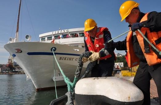 В Одессу зашел первый в этом году круизный лайнер с пассажирами из США