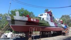 В Одесской области на Дунае отремонтировали пограничный бронированный катер (ФОТО)