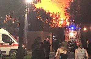 Пожар в одесской психиатрической больнице: есть погибшие