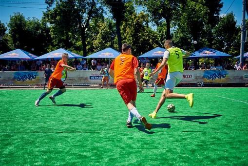 Одесситы заняли второе место на Национальном кубке по уличному футболу