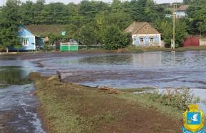 Три села в Одесской области оказались подтопленными из-за сильного ливня