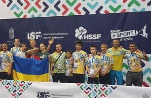 Три медали завоевали одесские школьники на I Всемирных играх единоборств