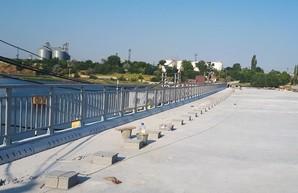 Сооружение моста через Сухой лиман вошло в финальную стадию