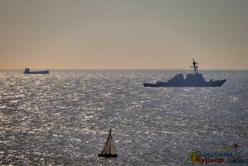 Участники Sea Breeze 2019 вышли в открытое море