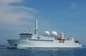 Французское судно-разведчик появилось в Чёрном море