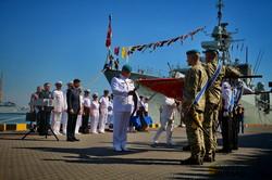 День военно-морского флота отметили в Одессе