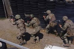 На Одесчине украинские морпехи готовятся к дежурству в боевой тактической группе «Хелброк»