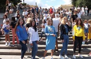 На Потёмкинской лестнице установили национальный рекорд Украины (ФОТО)