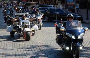 В Одессе финишируют участники всеукраинского мотопробега