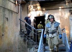 На Молдаванке загорелся четырёхэтажный жилой дом