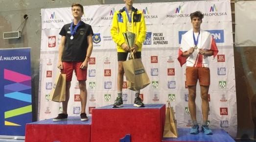 Одесские скалолазы взяли золото и серебро на Чемпионате Европы