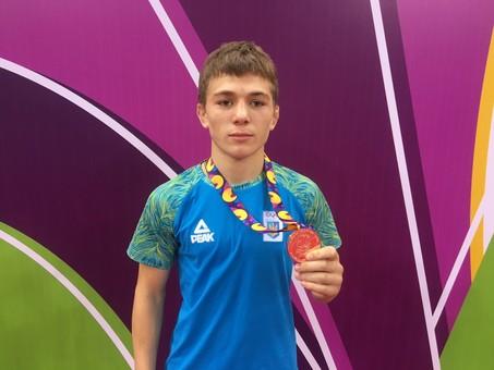 Борец из Одесчины завоевал бронзу на юношеском олимпийском фестивале в Азербайджане