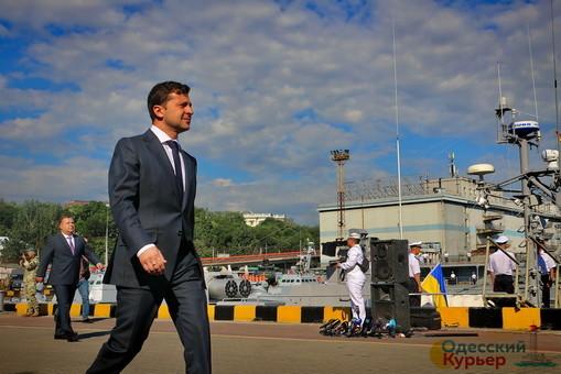 Сегодня Зеленский снова посетит Одессу