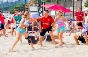 В Одессе пройдёт фестиваль пляжного регби