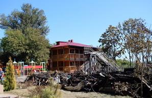 Лагерь «Виктория» впервые после пожара принял детей
